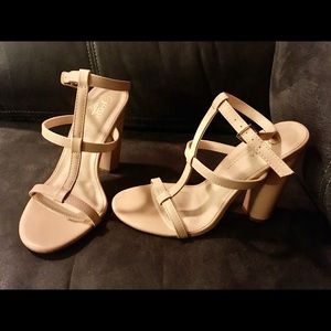 New with tags Forever 21 open toe block heels